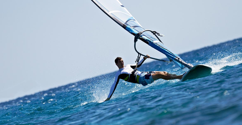 Windsurfen auf Fehmarn